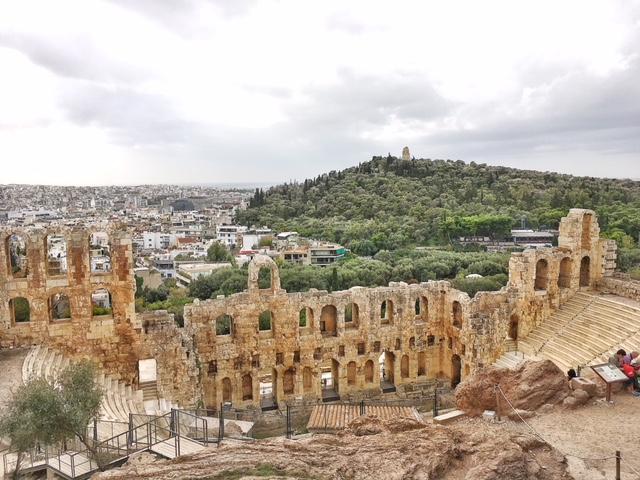 Odeo Erode Attico Acropoli Atene