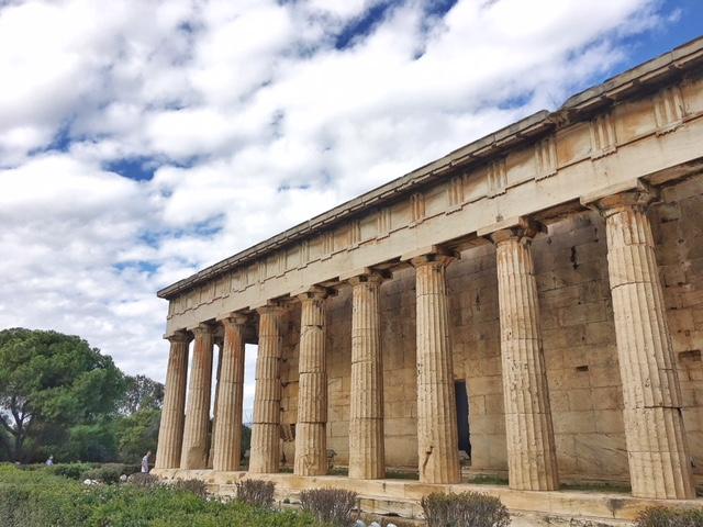 Tempio Efesto Agorà Atene