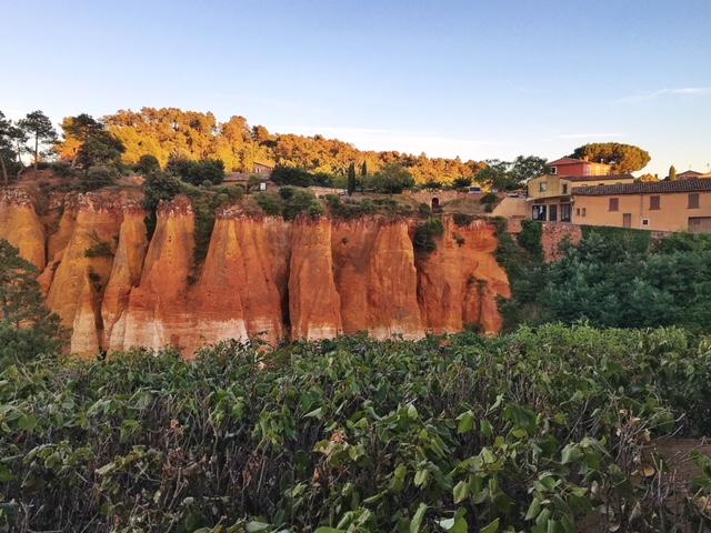 I colori di Roussillon Provenza