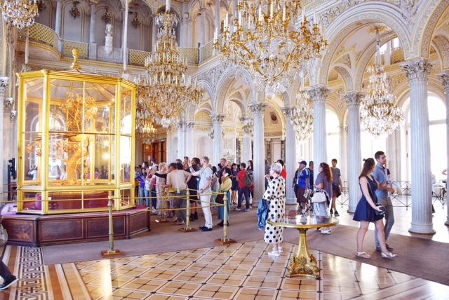 Sala del Padiglione Palazzo d'Inverno Hermitage
