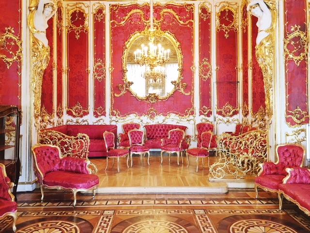 Palazzo d'Inverno Hermitage sala rossa