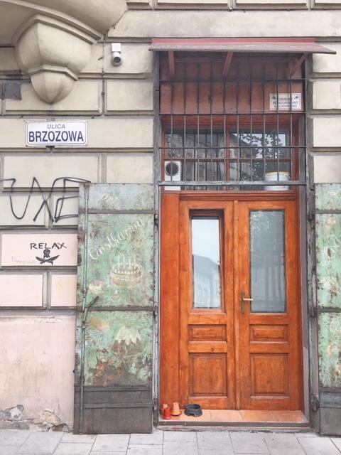 Dettagli urbani a Kazimierz Cracovia