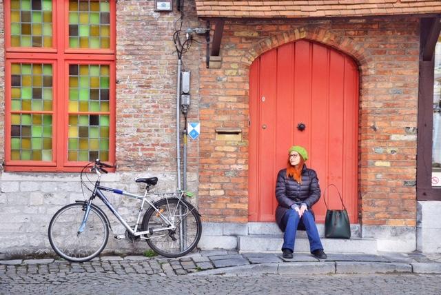 Scorci caratteristici Bruges