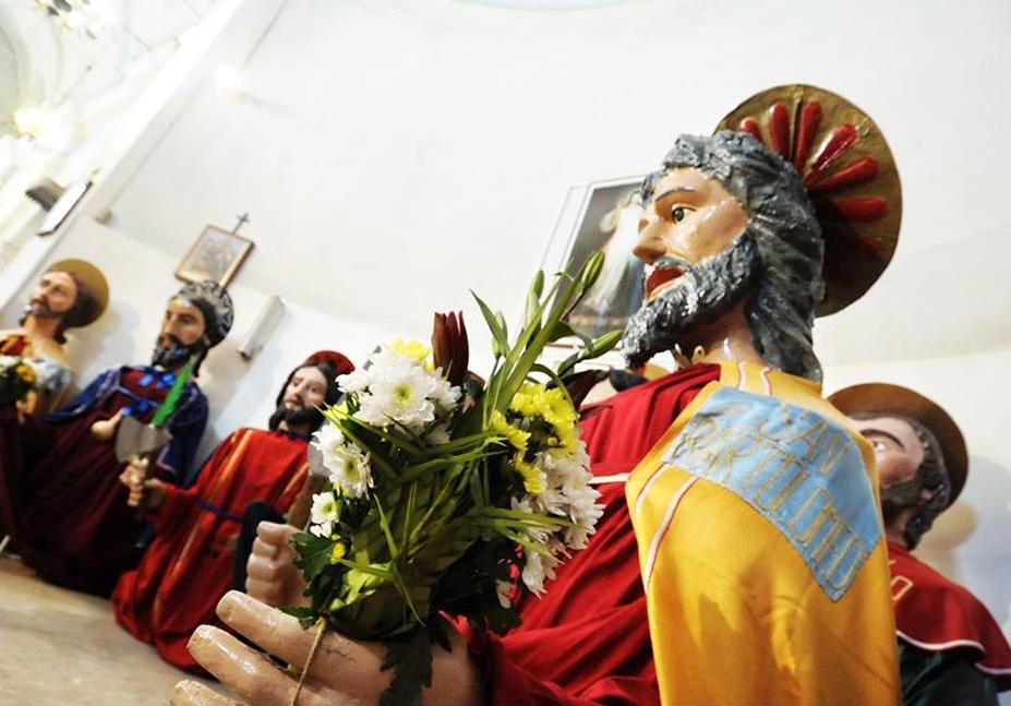 Santoni Aidone tradizioni Pasqua