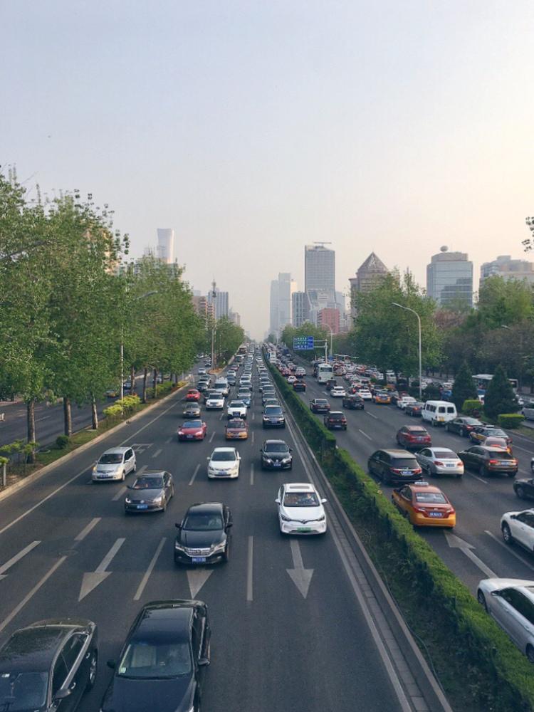Traffico a Beijing