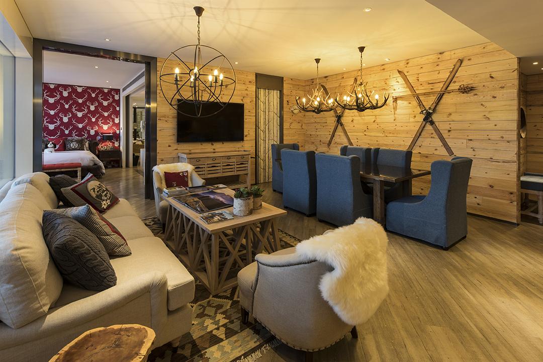 Éclat Hotel Beijing Swiss Chalet Suite