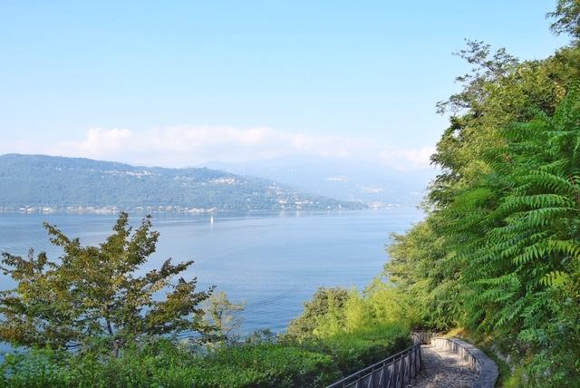 Vista sul Lago Maggiore dall'Eremo di Santa Caterina dal Sasso