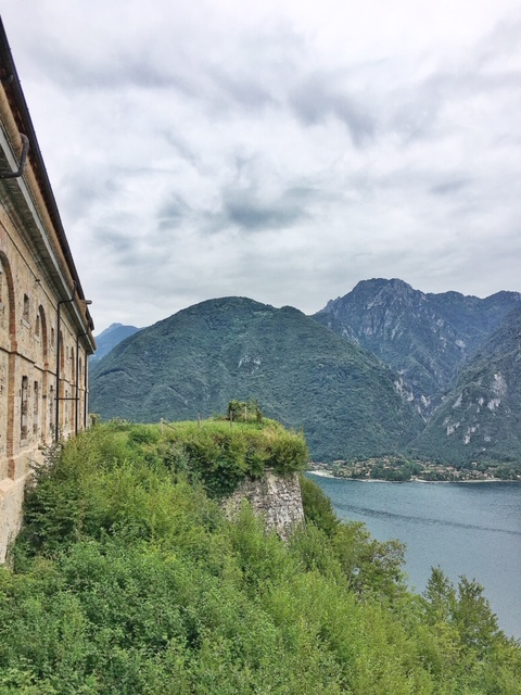 Vista dalla Rocca d'Anfo