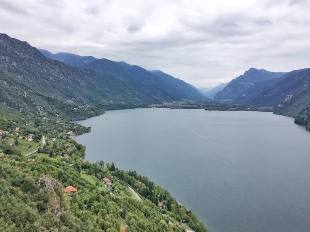 Vista sul Lago d'Idro da Rocca d'Anfo