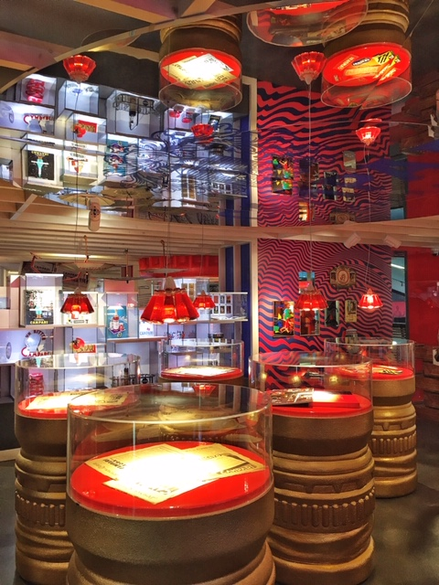 Campari Lights Ingo Maurer Galleria Campari