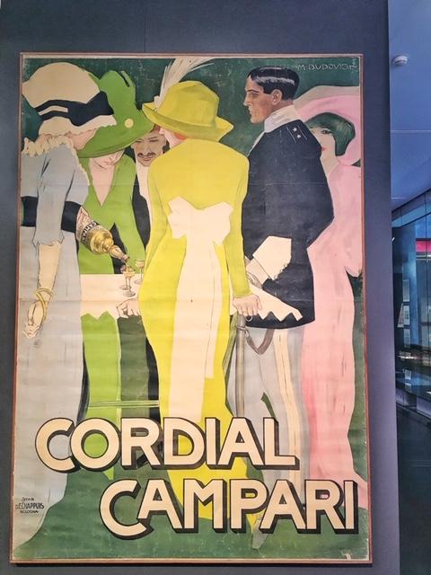 Manifesto Cordiale Campari Galleria