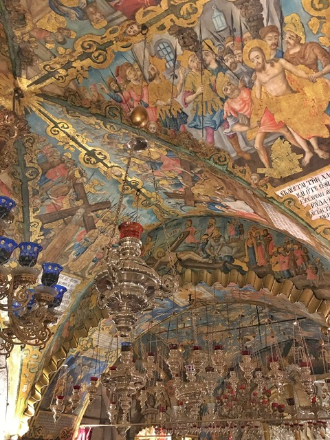 Interno Chiesa del Santo Sepolcro