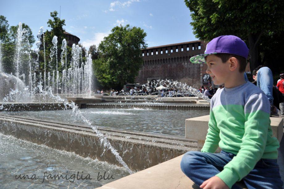 Giornata a Milano con bambini con autismo