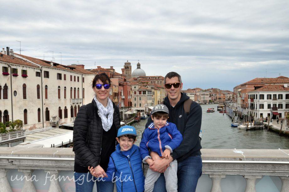 itinerario a Venezia con bambini pigri