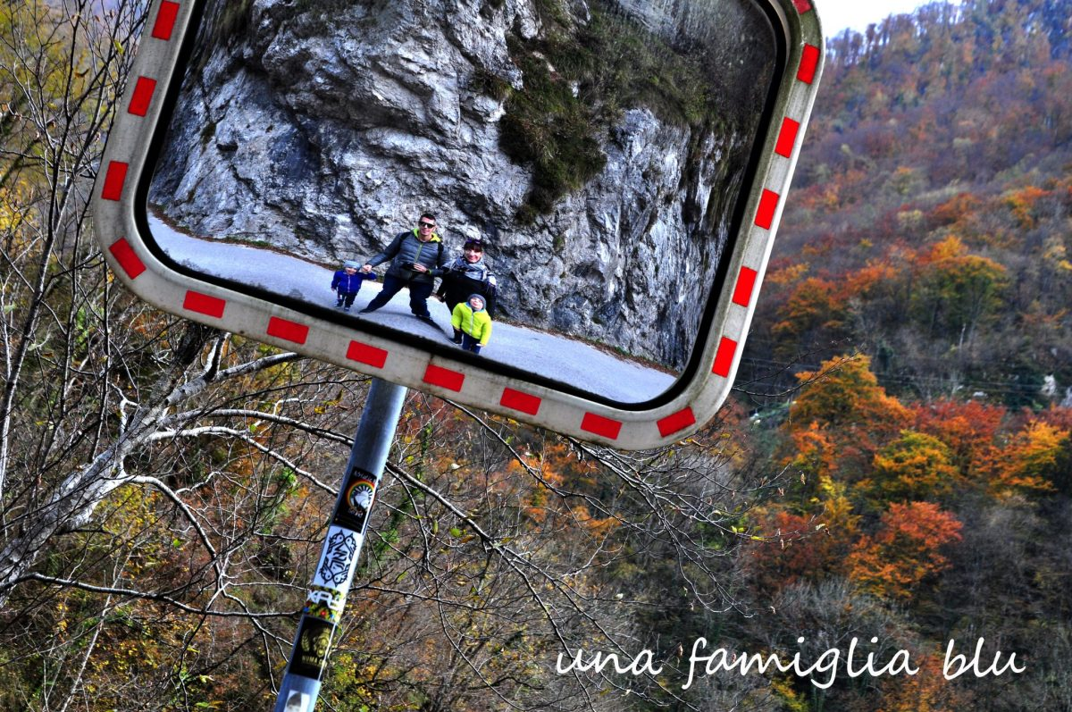 Foliage in Slovenia alle Gole di Tolmin