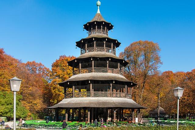 torre cinese a monaco di baviera