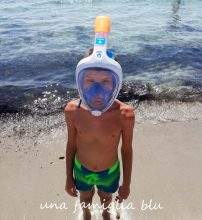 maschera easybreath decathlon junior snorkeling