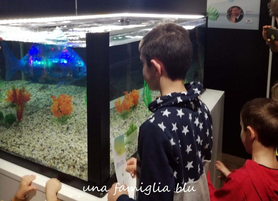 pesce robot alla città dei robot a milano