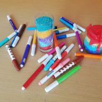 Come fare il sale colorato con i bambini
