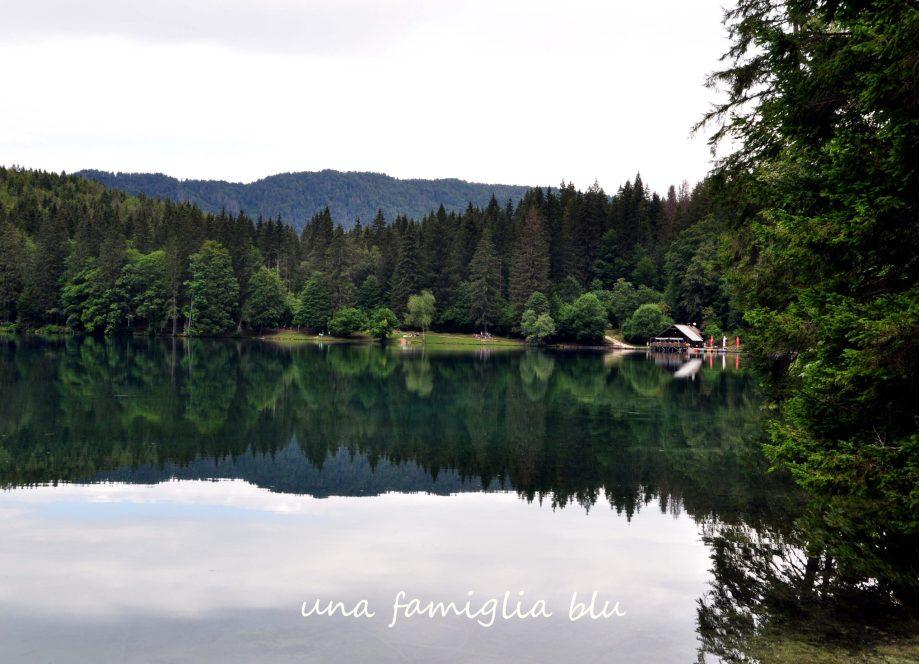 visitare i laghi di fusine con i bambini