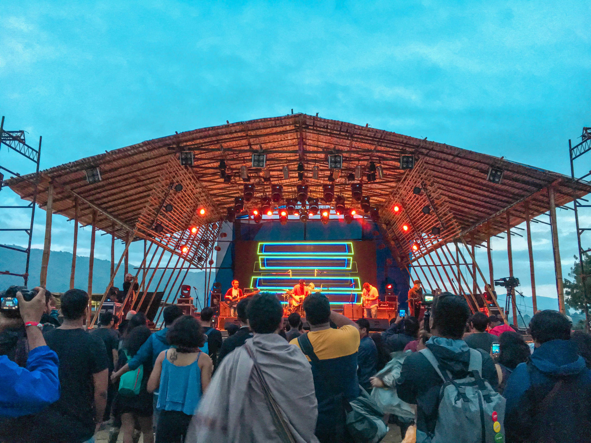 What is the daytime event at Ziro music festival like?