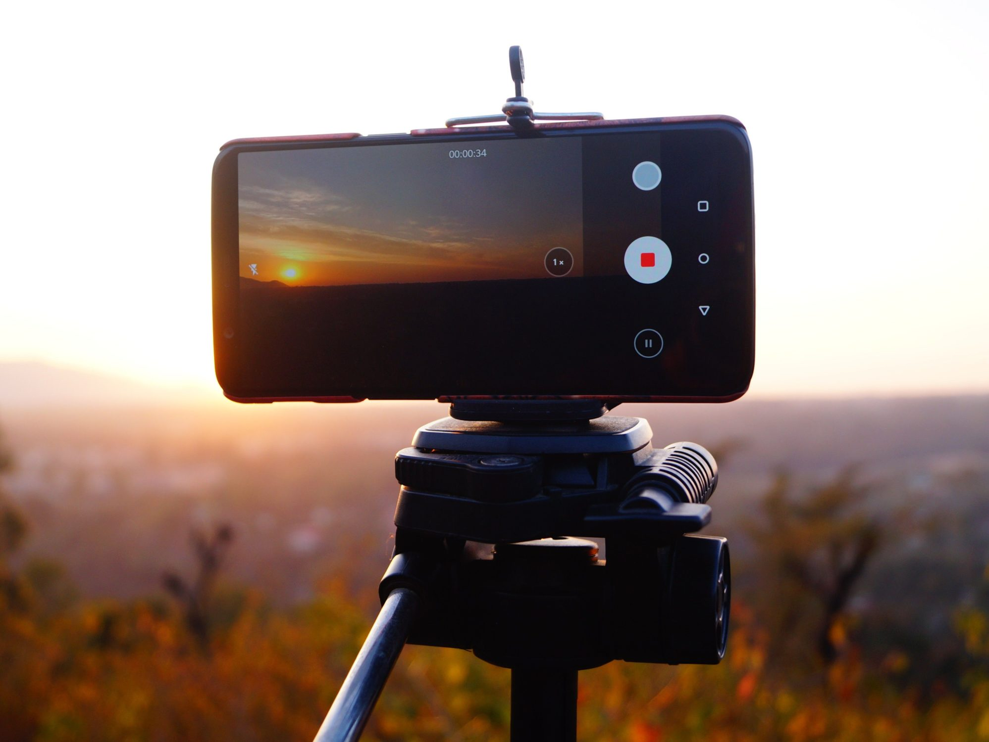 How to create a time-lapse video of a sunset?