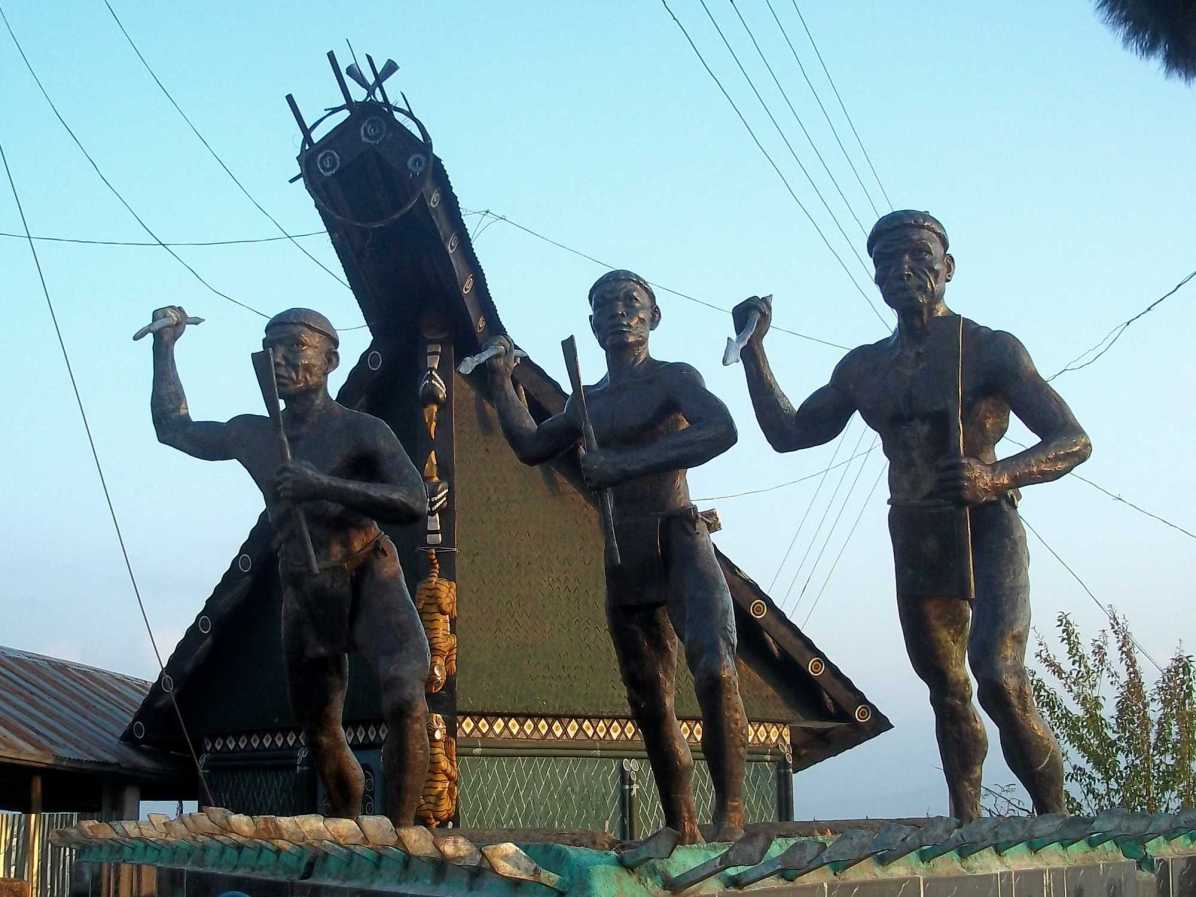 Where can I go to see Naga Heritage in northeast India?