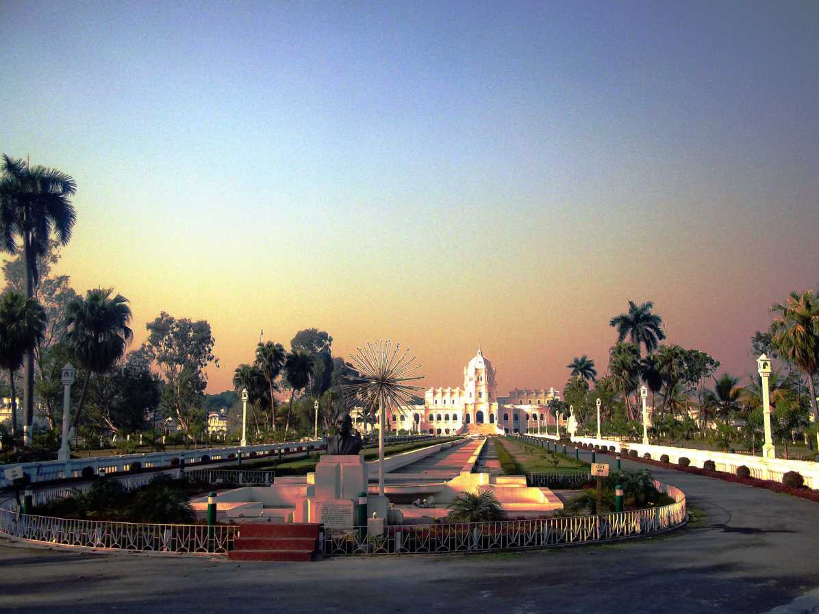 What is a must visit place in Tripura, northeast India?