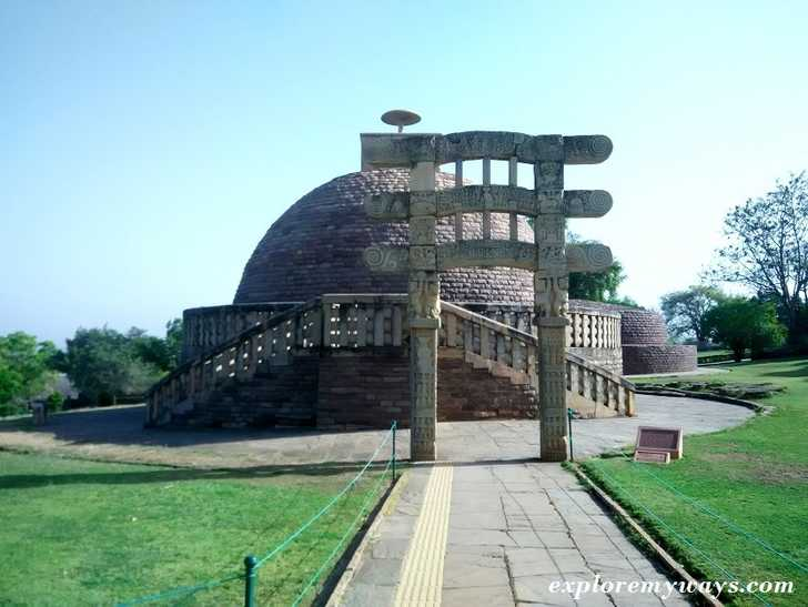 How is the Sanchi Stupa in India?