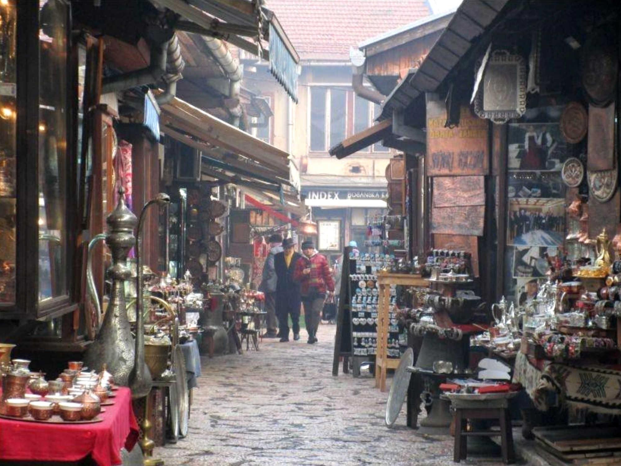 Where should I shop in Sarajevo?