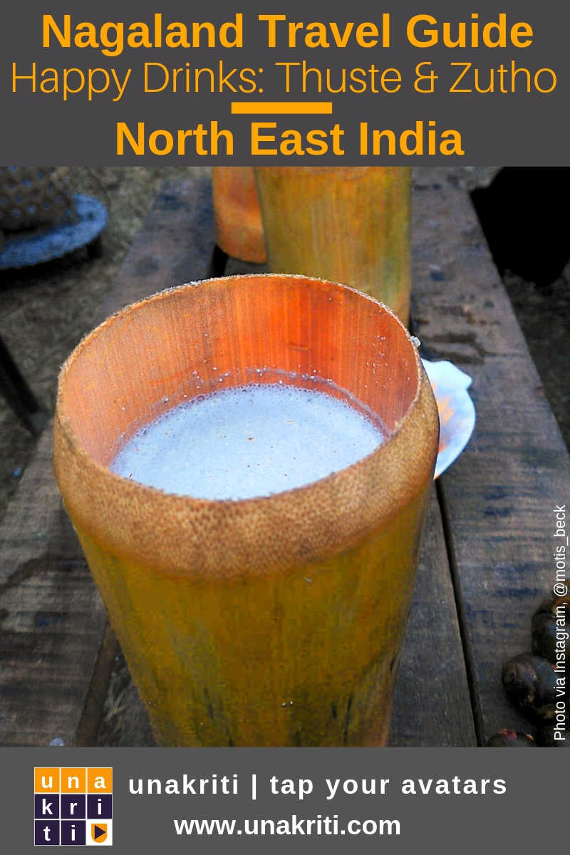 What is the most popular alcoholic drink in Nagaland?