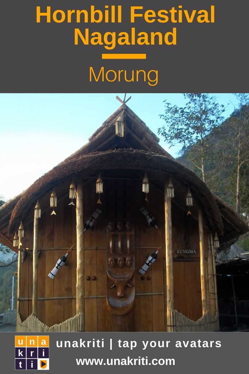What is a Morung in Nagaland's Hornbill Festival heritage site? #unakriti #tapyouravatars #hornbillfestival #nagaland