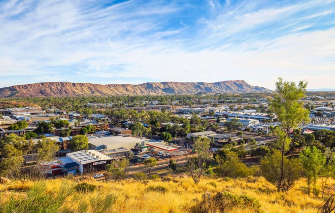 Alice Springs depuis Anzac Hill
