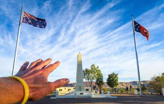 Anzac Hill à Alice Springs