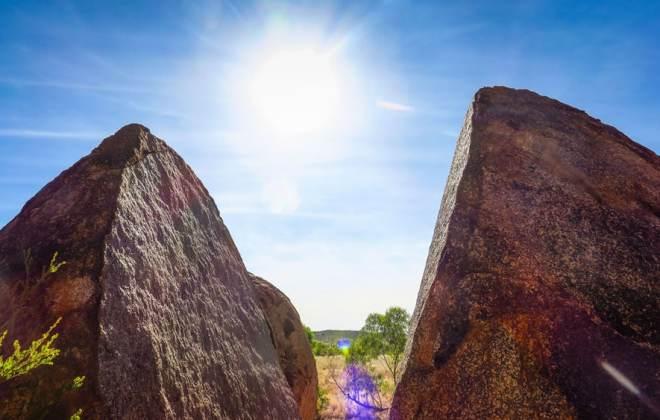 Formations rocheuses de Devils Marbles