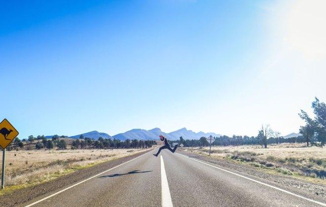 Sur la route des Flinders Range