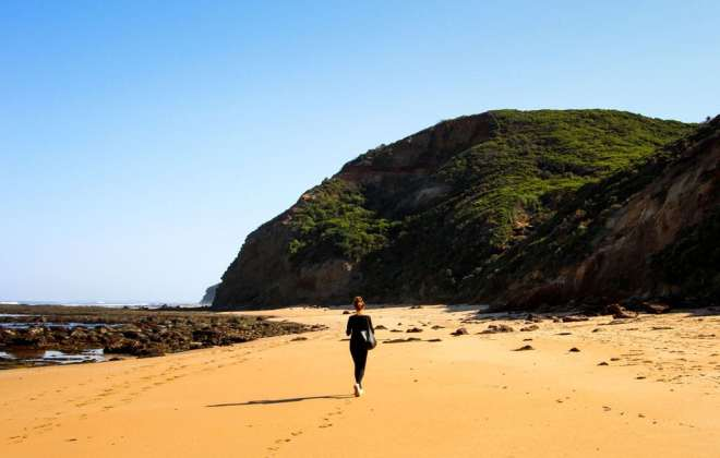 Wreck Beach sur la Great Ocean Road