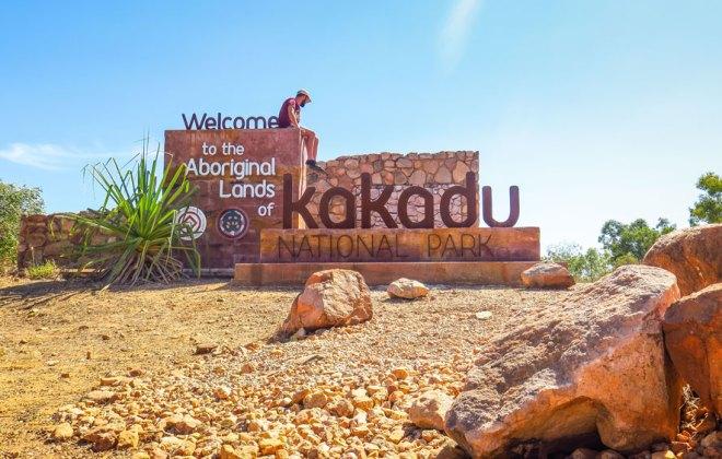 Entrée du parc national de Kakadu