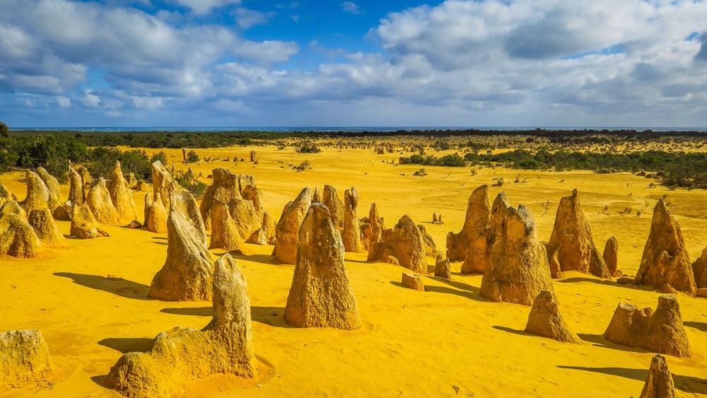 Désert de Pinnacles en Australie-Occidentale