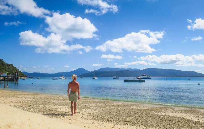 Plage de Fitzroy Island