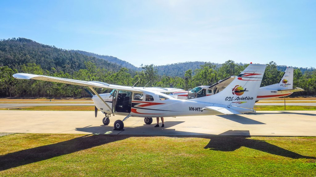 Avion de GSL Aviation