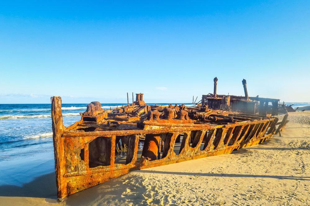 SS Maheno Wreck sur Fraser Island