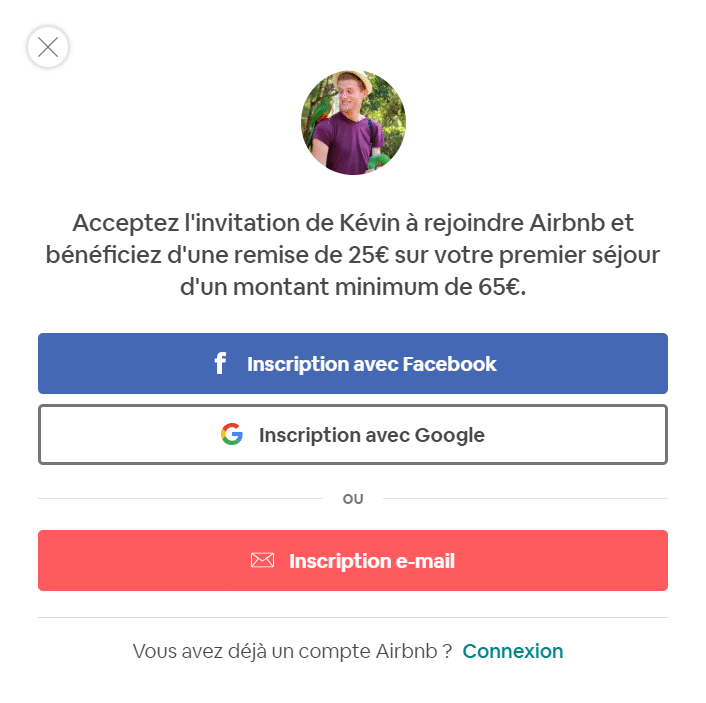 Réduction Code Promo Airbnb