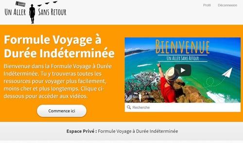 Formule Voyage à Durée Indéterminée - Résumé
