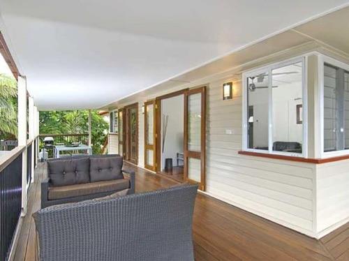 La terrasse de Maitena à Brisbane