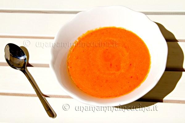 Cream di peperoni - Ricetta di unamammmaincucina.it