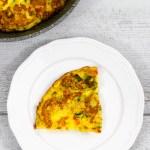 Frittata con peperoni e zucchine - Ricetta di unamammaincucina.it