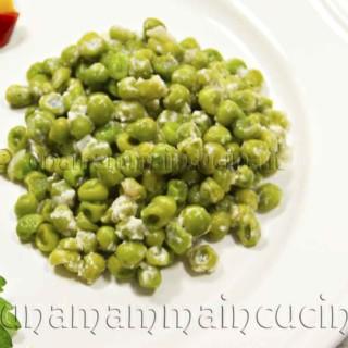Pisellini alla crema di latte e parmigiano   Ricetta di Una Mamma In Cucina