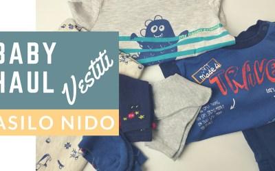 Baby Haul vestiti per l'Asilo Nido