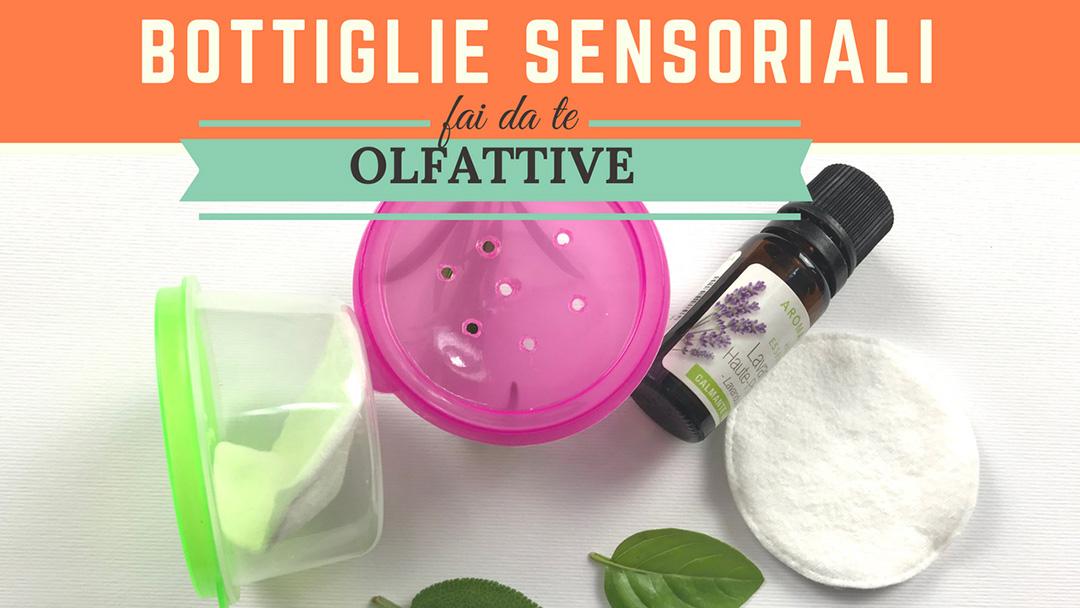 Bottiglie sensoriali olfattive